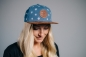 "Mobile Preview: ""Alpinum Silberdistel"" - blau (Snapback)"