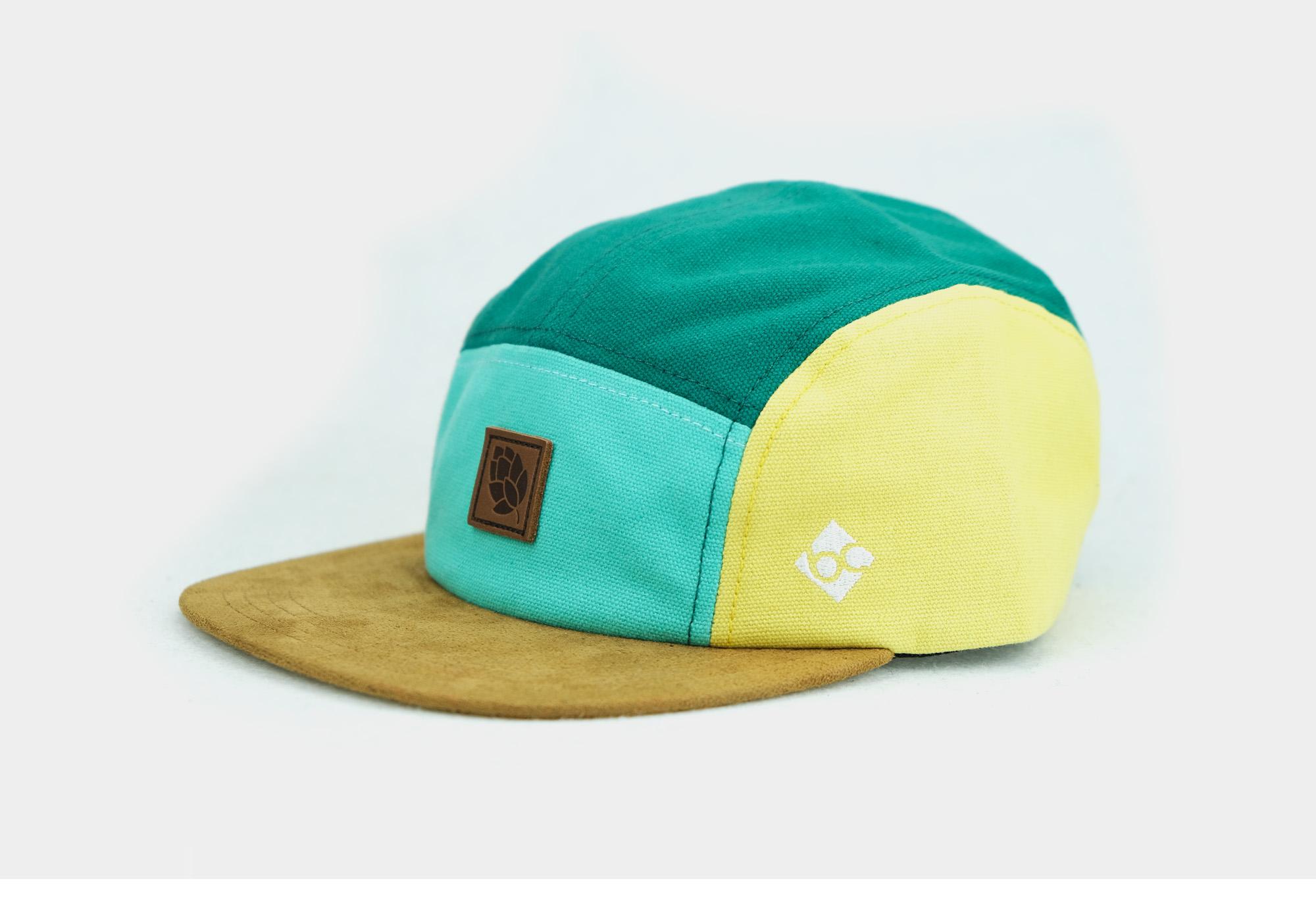 Hatphile Native Pattern Multi Color Jacquard 5 Panel Hat Camp Cap XL